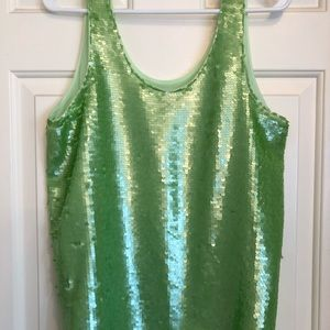 H&M sequin tank